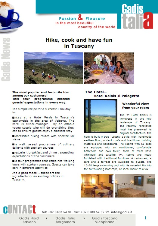 Tuscany: Hike and Cook