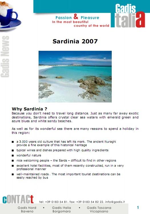 Sardinia 2007