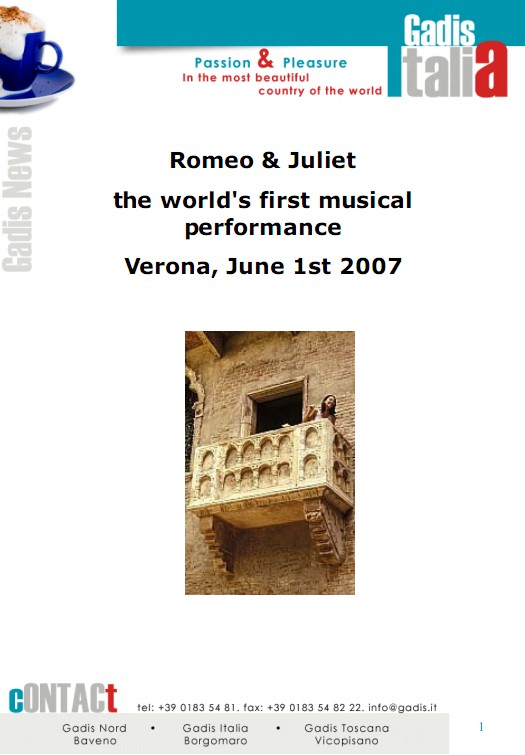 Julia and Romeo musical