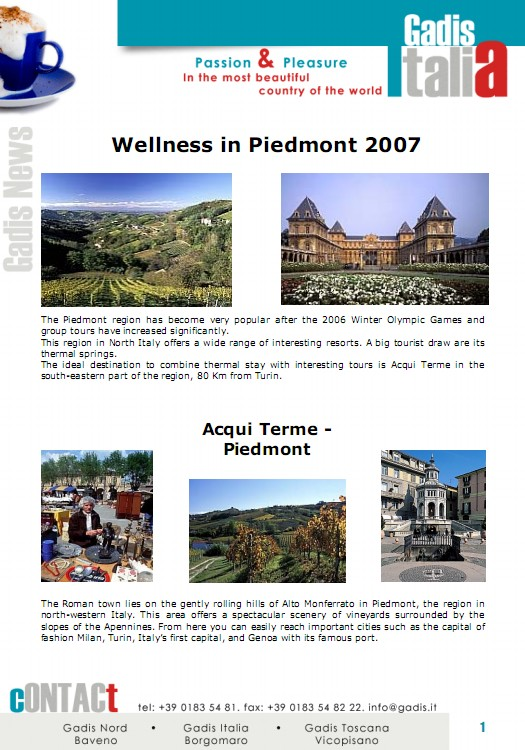 Wellness Piedmont 2007