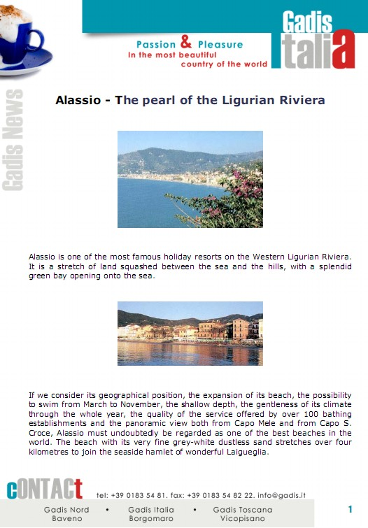 Real Riviera, as it used to be: ALASSIO
