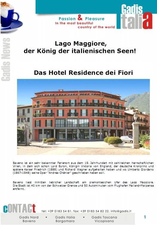 Lago Maggiore, der K�nig der italienischen Seen!
