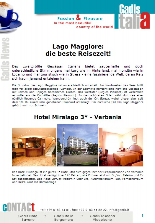 Lago Maggiore: die beste Reisezeit!