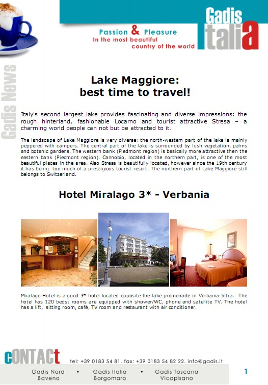 Lake Maggiore: The best time to travel!