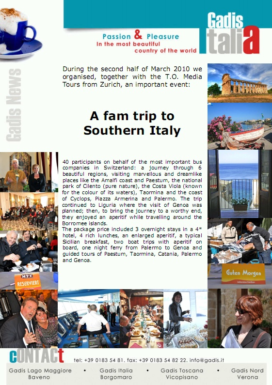 A fam trip to Southern Italy
