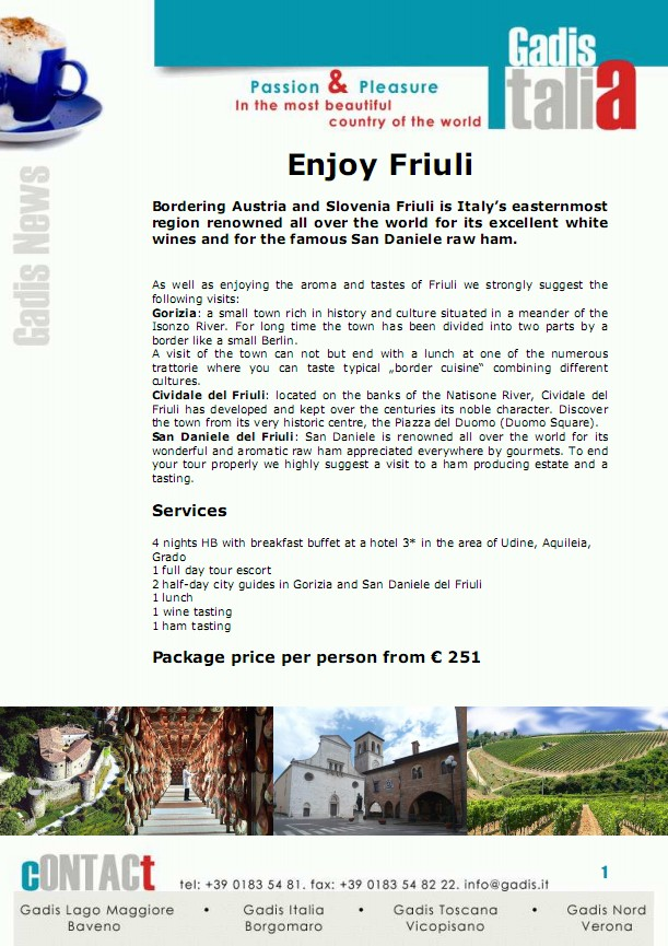 Enjoy Friuli