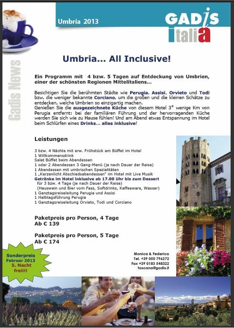 Umbria... All Inclusive!