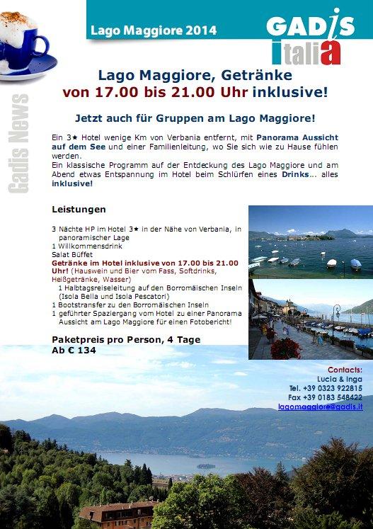 Lago Maggiore All Inclusive!