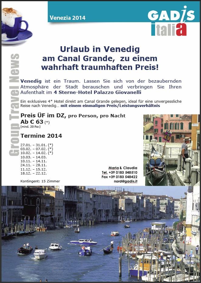 Venedig zentral: Urlaub in Venedig