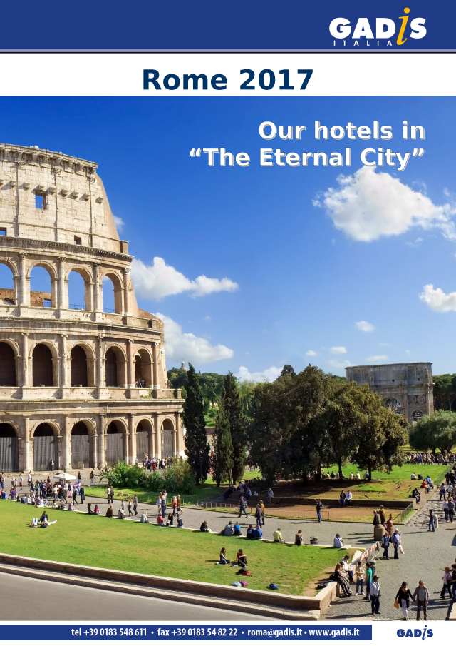 Our hotels in  �The Eternal City� - Rome 2017