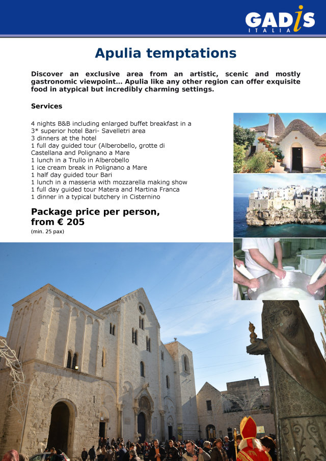 Apulian Temptations