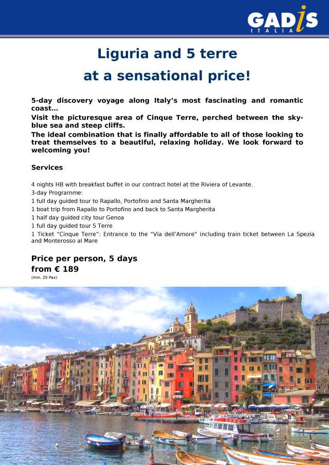 Liguria and Cinque terre