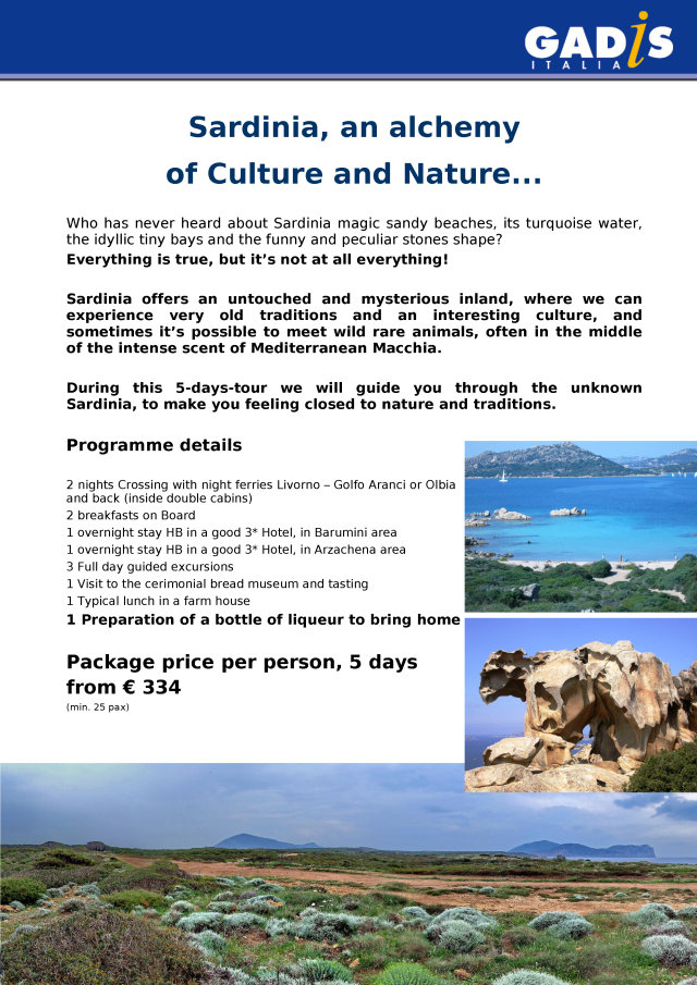Sardinia, an alchemy of Culture and Nature...