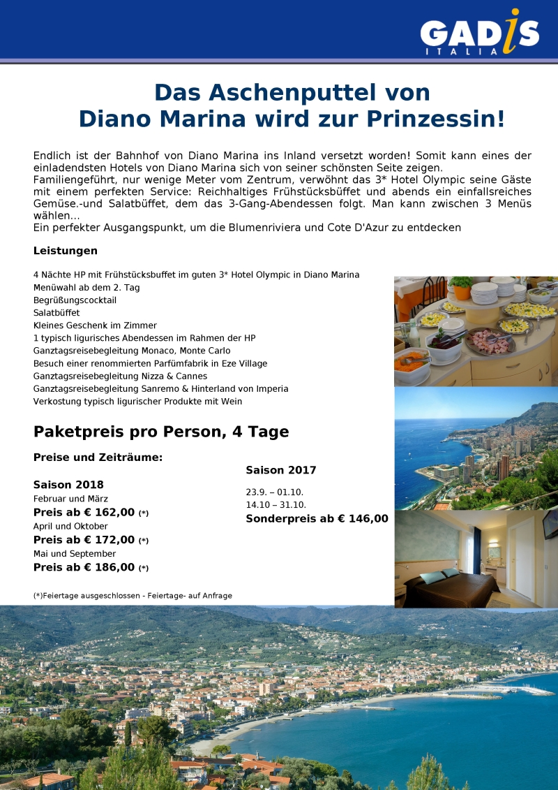 Diano Marina - Hotel Olimpic