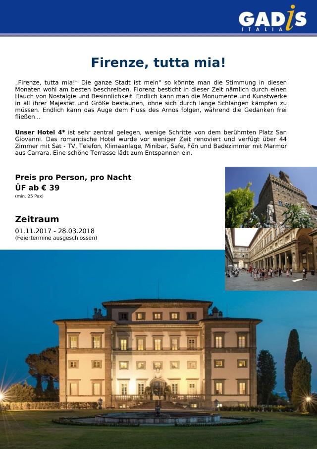 Florenz 2017 - 2018