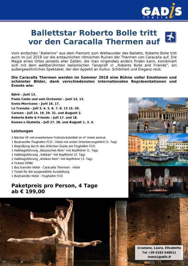 Rom Caracalla Thermen 2018