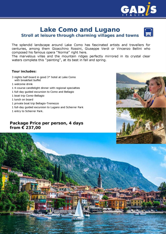 Lake Como & Lugano 2018
