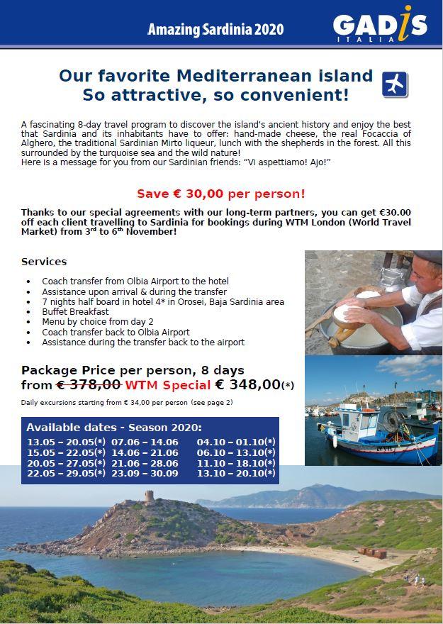 Our favorite Mediterranean island So attractive, so convenient!