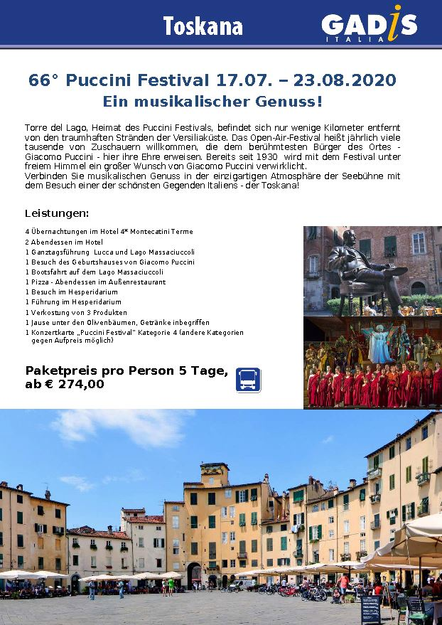 Toskana Puccini Festival